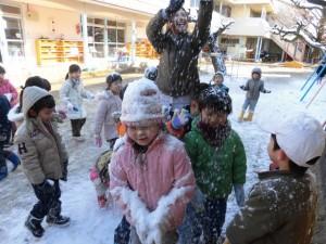 雪遊び (10)