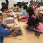 ひかり組 陶芸教室 11月5日、6日