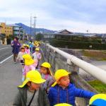 賀茂川へお散歩 ことり組 1月15日(火)
