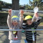 マラソン・凧揚げ ひよこ組 1月17日(木)