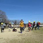 ひかり組・ひよこ組 賀茂川へお散歩 3月11日