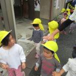 たんぽぽ組 初めてのお散歩 5月13日(木)