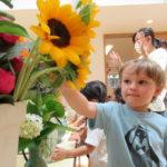 たんぽぽ組 花の日礼拝 6月3日(木)