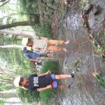 9月16日(木)ことり組 ポストにハガキ投函、川遊び