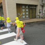 2021年9月17日(金) たんぽぽ組 敬老ハガキ投函 下鴨神社お散歩
