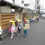 たんぽぽ組、ことり組 賀茂川お散歩 10月19日(火)
